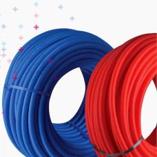 PİLSA KILIFLI PEX BORU 100 METRE  (Mavi - Kırmızı)